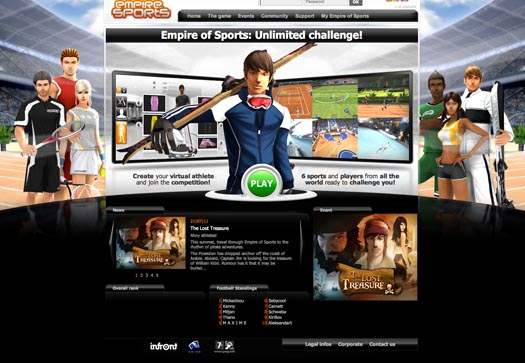 30 Awesome Game Website Design for Inspiration