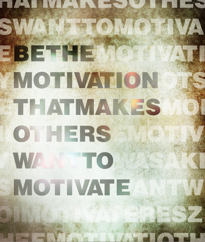 Motivation - Typography - Poster Design